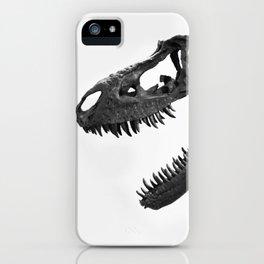Tyrannosaurus Rex Skeleton iPhone Case