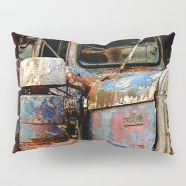Old Truckers Never Die Pillow Sham