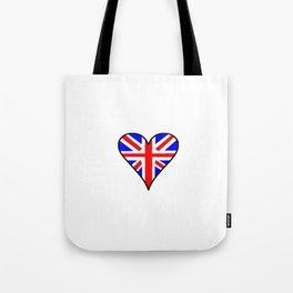 flag of UK 4- London,united kingdom,england,english,british,great britain,Glasgow,scotland,wales Tote Bag