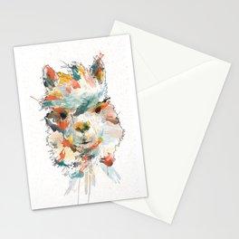 + Watercolor Alpaca + Stationery Cards