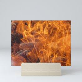 Flames Mini Art Print