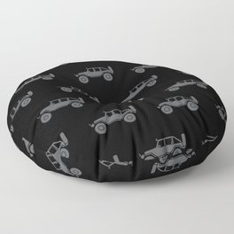 Off Road 4x4 Silhouette Floor Pillow