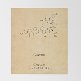 OXYTOCIN Throw Blanket