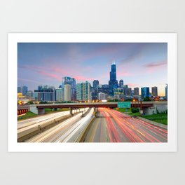 Chicago 02 - USA Art Print