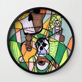 Skulls&Buddha 56 Wall Clock