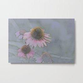 Flower Ballet 1 Metal Print