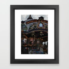 Round and Round Framed Art Print