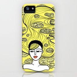 Lemon Grass iPhone Case