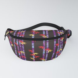 Traditional Japanese pattern CHIKURIN x YOKO-GUMO Fanny Pack