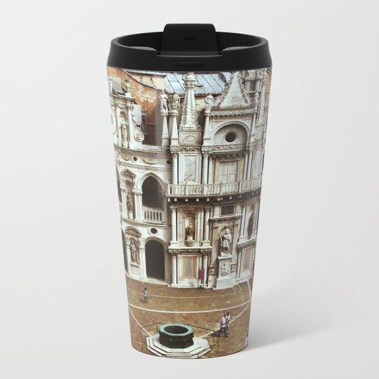 Doge's Palace Courtyard Metal Travel Mug