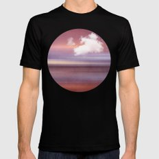 TIME AND SILENCE Mens Fitted Tee Black SMALL