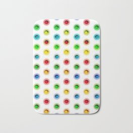 Gems Color Pattern Bath Mat