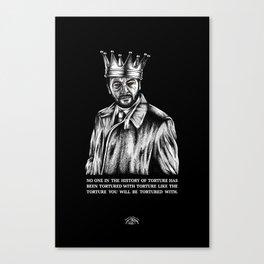 Crowley's Torture Canvas Print