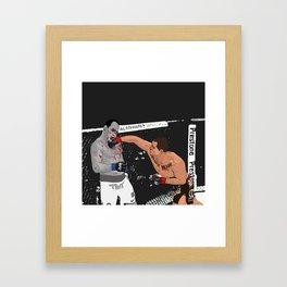 Cain Velasquez vs JDS Framed Art Print
