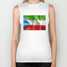 Equatorial Guinea Flag Biker Tank