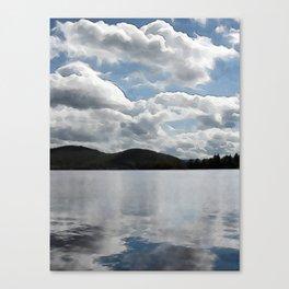 Lac Ouimet Canvas Print