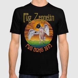 Pug Zeppelin T-shirt