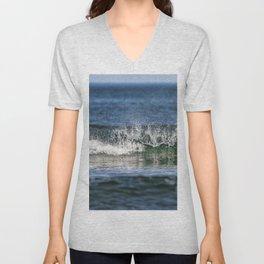 Beach Wave 0379 Unisex V-Neck