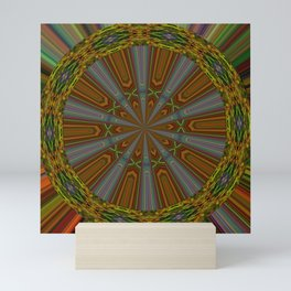Wandering Wheel of Time Mini Art Print