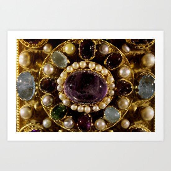 Gems  - JUSTART © Art Print