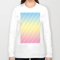 pastel Long Sleeve T-shirts featuring Pastel by Rebecka R