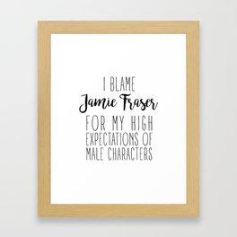 High Expectations - Jamie Framed Art Print
