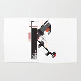 Abstract K Rug