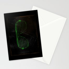 Electro Glasses Stationery Cards