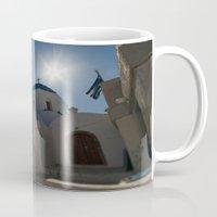 greek Mugs featuring Greek Orthodox by Mark Nelson