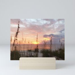Hidden Beach Mini Art Print