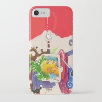 starcraft iPhone & iPod Cases featuring Starchaser by Mauricio Cosío