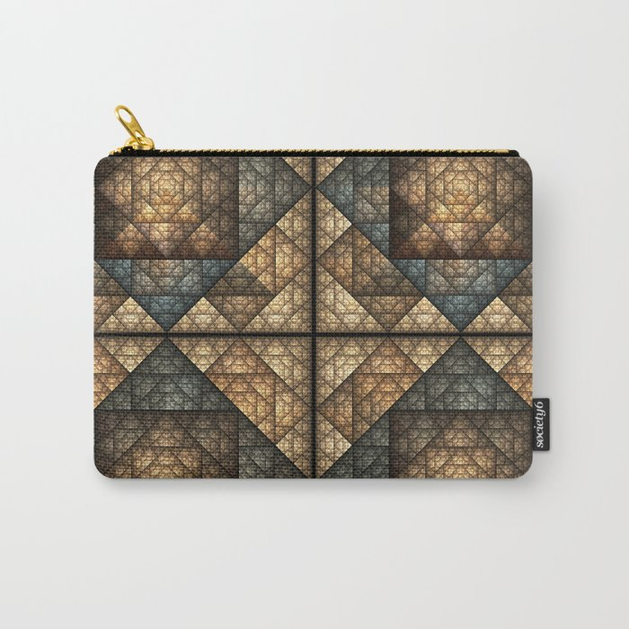 Church Window Pattern Carry-All Pouch