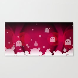 Hell Tale Pink. Canvas Print