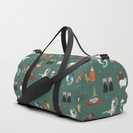 Warrior Women of the Zodiac Duffle Bag
