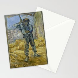 The Thresher (after Millet) Stationery Cards