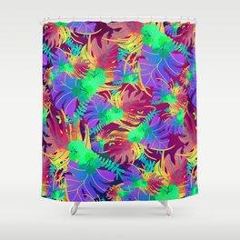 Nature flower pattern Shower Curtain