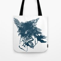 book cover Tote Bags featuring book cover by EKSLIBRIS/ Jelena Lasan