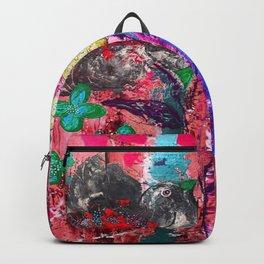 Pink Bird nest Backpack