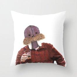 Jolly Swanson Throw Pillow