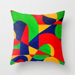 Formas # 3 Throw Pillow