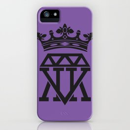 King Crown (PURPLE) iPhone Case
