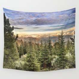 """""""Wildderness"""". Adventure at the mountains... Wall Tapestry"""