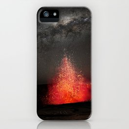 Kilauea Volcano Eruption .3 iPhone Case