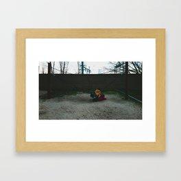 Los juegos Framed Art Print