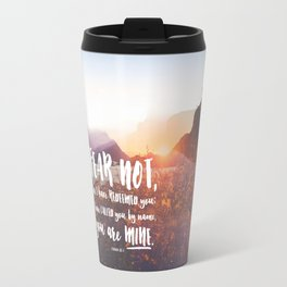 Isaiah 43:1 Travel Mug