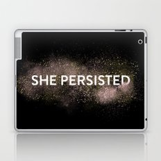 She Persisted - Gold Dust Laptop & iPad Skin