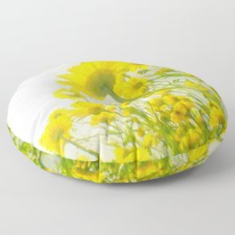 Sunny Afternoon Floor Pillow
