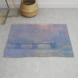 Charing Cross Bridge - Claude Monet Rug