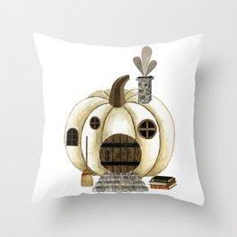 pumpkin home Throw Pillow