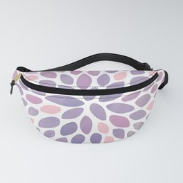 Festive, Flower Bloom, Purple and Pink, Floral Prints Fanny Pack